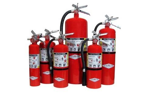 Обслуживание и ремонт огнетушителей