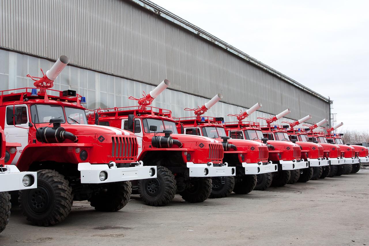 В Волгоградской области построили новое пожарное депо