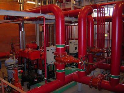 Испытания внутреннего противопожарного водопровода