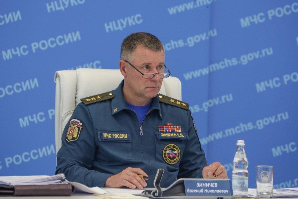 В МЧС России приняты решения по чрезвычайным ситуациям в ряде субъектов Российской Федерации